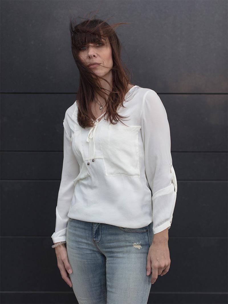 <p>Nicole, piazza Alvar Aalto</p>